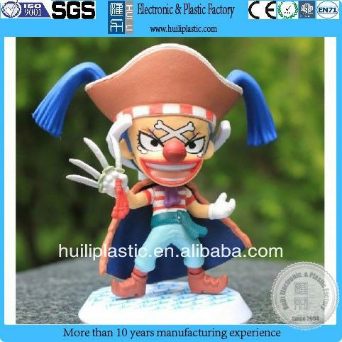 plastic cartoon toy for kids/cartoon toy for collection&gift/decoration cartoon horror toy