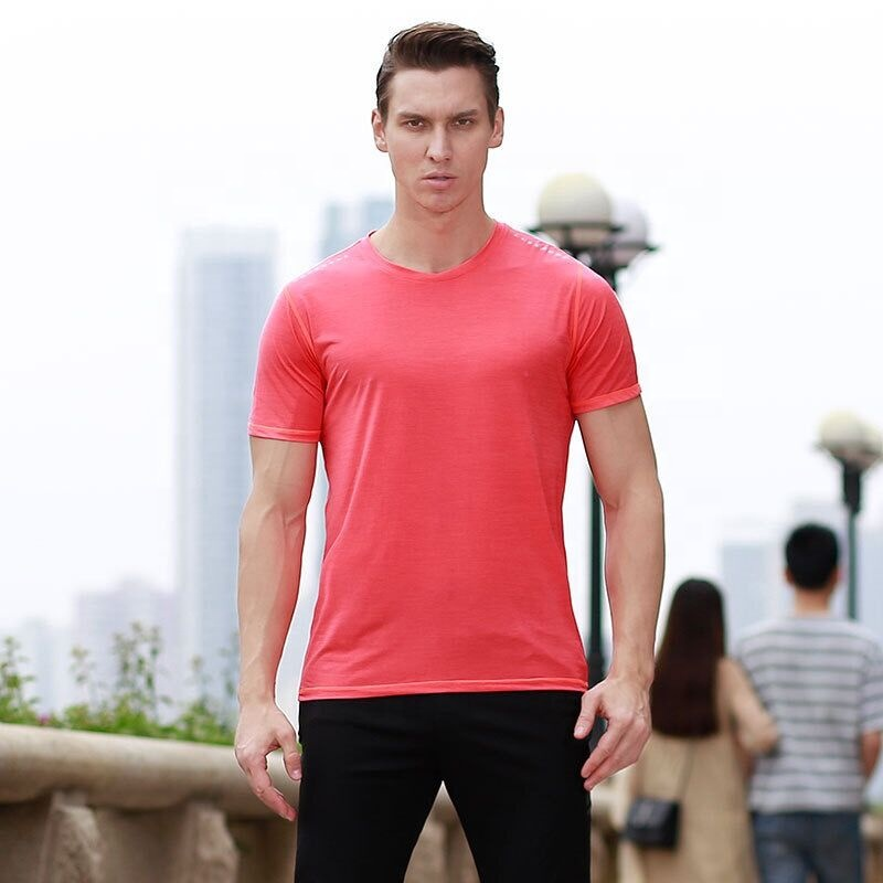 Top Quality Men's Polo T Shirt Sportswear Gym Clothes