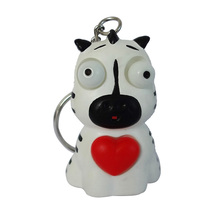 Soft rubber animal toy, squeeze animal toy,keychain manufacture toy for souvenir gifts