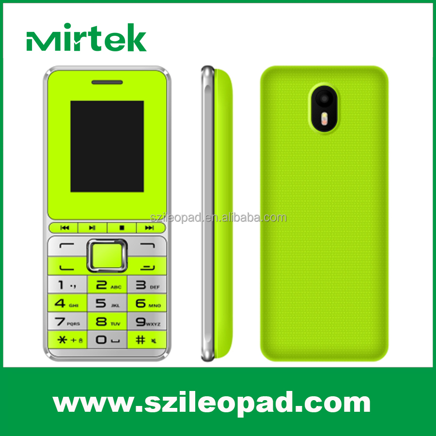 1.77inch low price and high quality mobile phones with 32+32mbt support T-flash card with quad band with made in china