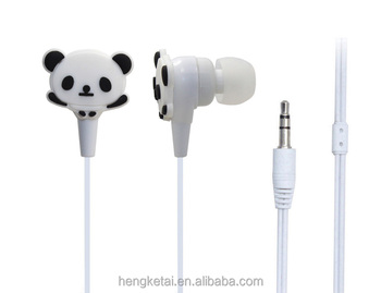 fa3bac72d04647 Most Popular With The Children Little Panda Earphones Made In China ...