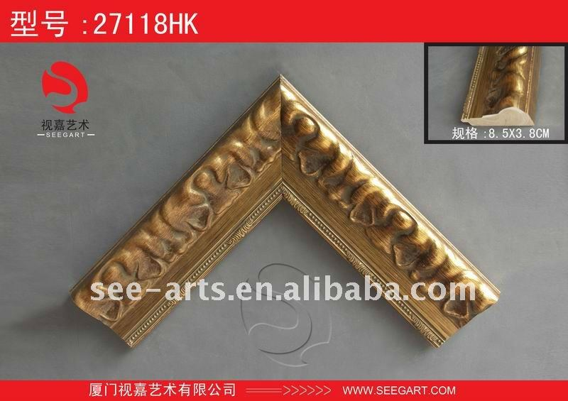 wood gold painting frame 27118HK