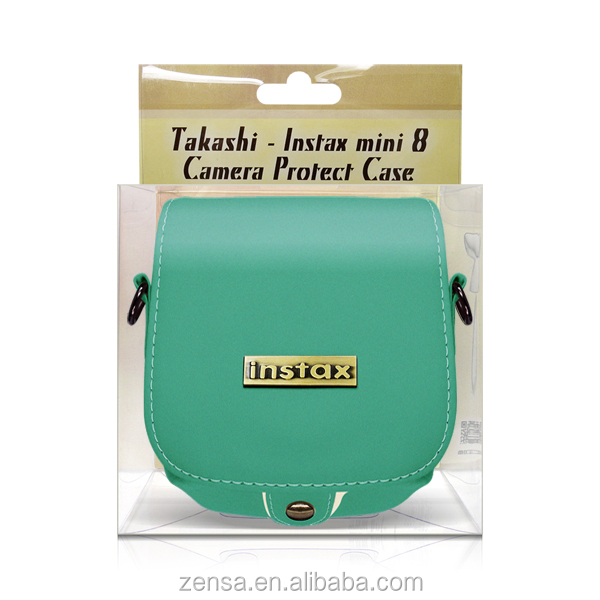 Fuji Mini 8 Mint Instant Polaroid Film Camera Case Bag Fujifilm Instax 8