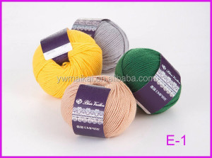 The chain blended hand knitting merino wool yarn wholesales