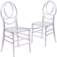 Ice resin chair phoenix chair for party rental