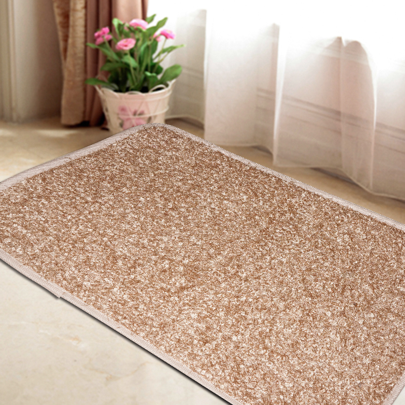 Camel Light Tan L6 Mat Carpet Rug Used Door Floor Kitchen Bath Anti Slip Model