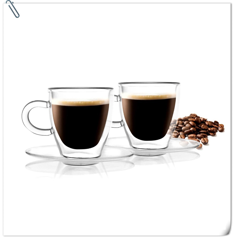 Double wall coffee cup likewise vintage pyrex clear glass refrigerator - Double Wall Glass Coffee Cup Double Wall Glass Coffee Cup Suppliers And Manufacturers At Alibaba Com