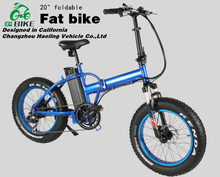 20 inches big motor Folding fat electric bike with fat tires