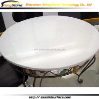 Amazing cafe bar acrylic solid surface coffee table glass replacement