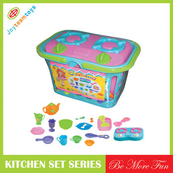 Jth80036 Cooking Set Cart Toy Kitchen Set Toys For Girls Buy