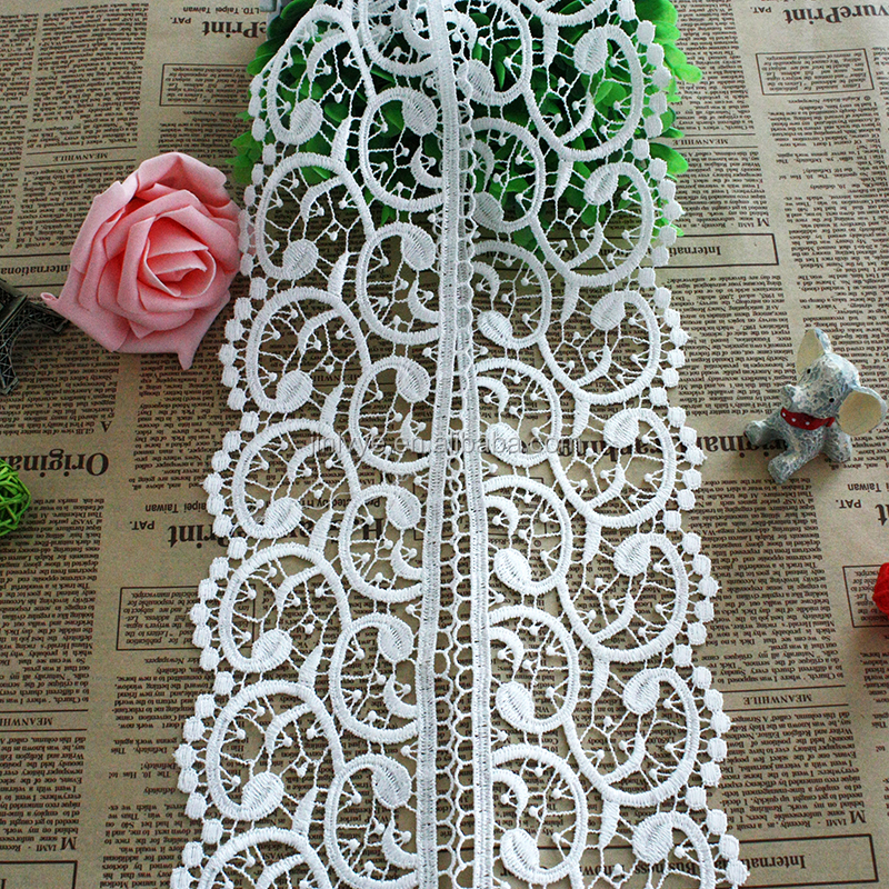 2016 Hot fashion crochet chemical lace trim for wedding dress/Ladies suit/table cloth home decor