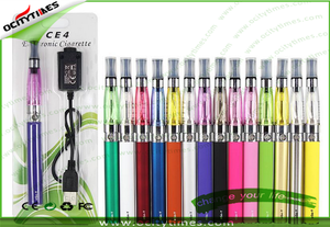 510 e-cigarette wholesale kit/ego ce4 zipper case kit shenzhen electronic cigarette factory