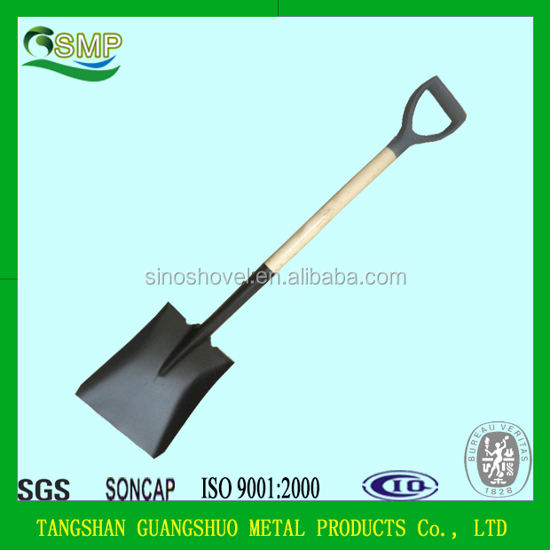 S519SPY WOODEN HANDLE SHOVEL