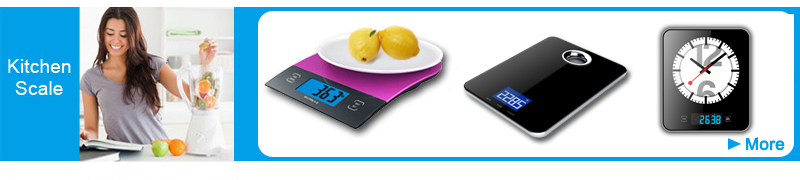 2015 Newest Ultra Thin 5kg Electronic Glass Digital Kitchen Scale from BSCI manufacturer