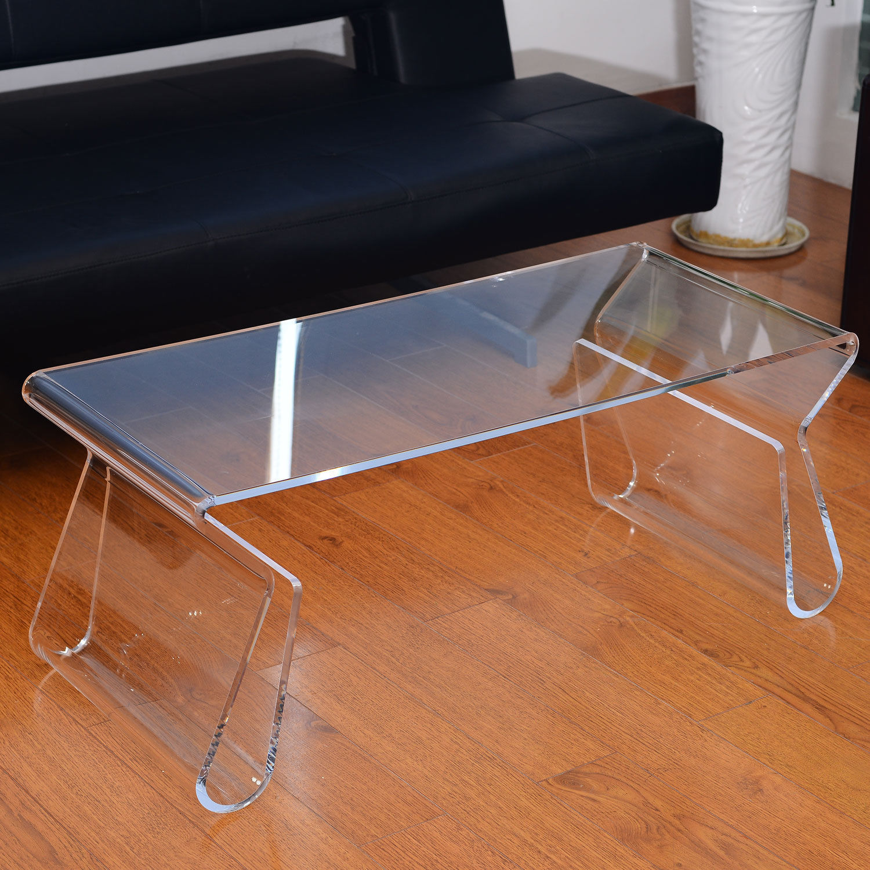 modern handmade plastic acrylic coffee tables design regarding