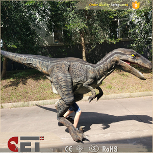 CET-N1284 Cetnology New Launch 17kg Walking with Adult Raptor Costume Dinosaur
