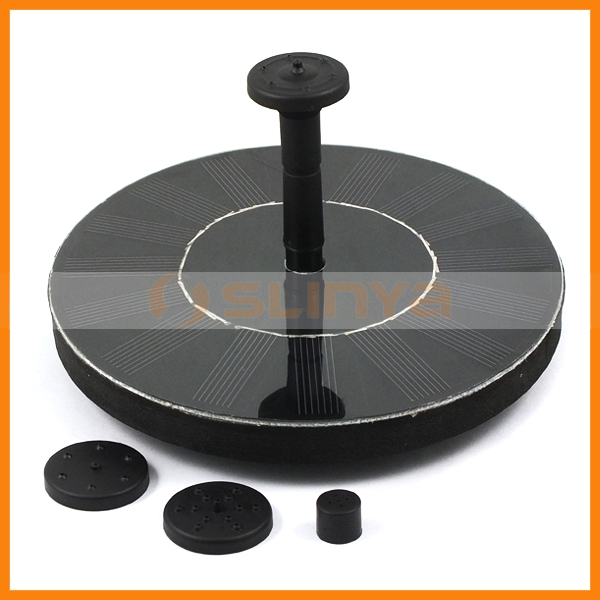 Mini Float Style Solar Powered Panel Water Fountain Pump