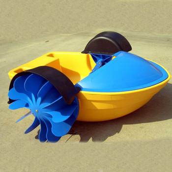 2018 new design inflatable pool paddle boat plastic kids paddle