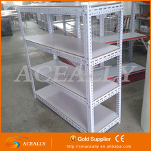 Light duty angle steel storage shelving/manual storage