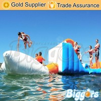 Inflatable Water Floating Island Land Sports Park Amusement for Adults