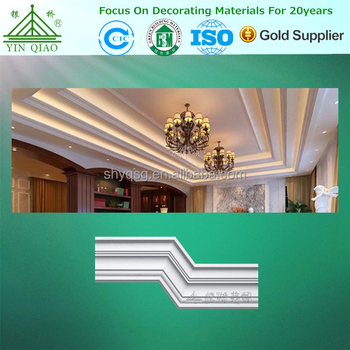 Anti-flaming Interior Decorative Gypsum Crown Molding For House Or Hotel -  Buy Crown Molding,Gypsum Crown Molding,Decorative Gypsum Crown Molding