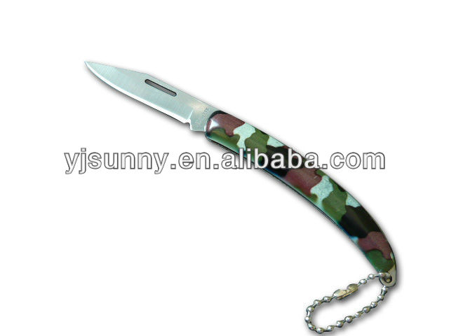 FE-533 Hot Sale Quality Fashionable Metal Folding Knives With Camouflage Coating Handle