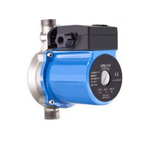 Domestic water pump for floor heating system circulation