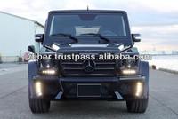 Mercedes Benz G-class W463 Hood Body Kit Bumpers Spoilers Wings ...