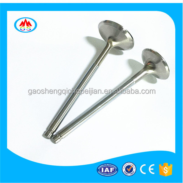 Motorcycle scooter spare parts engine valve for SYM GR125
