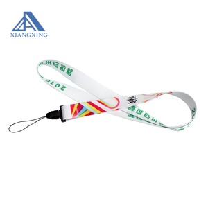 Cheap Custom 100% Polyester Sublimation Paper Lanyard With Logo