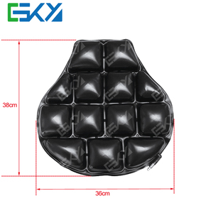 Air Motorcycle Seat Cushion Pressure Relief Pad For Cruiser Touring Saddles Air Cell Pillow