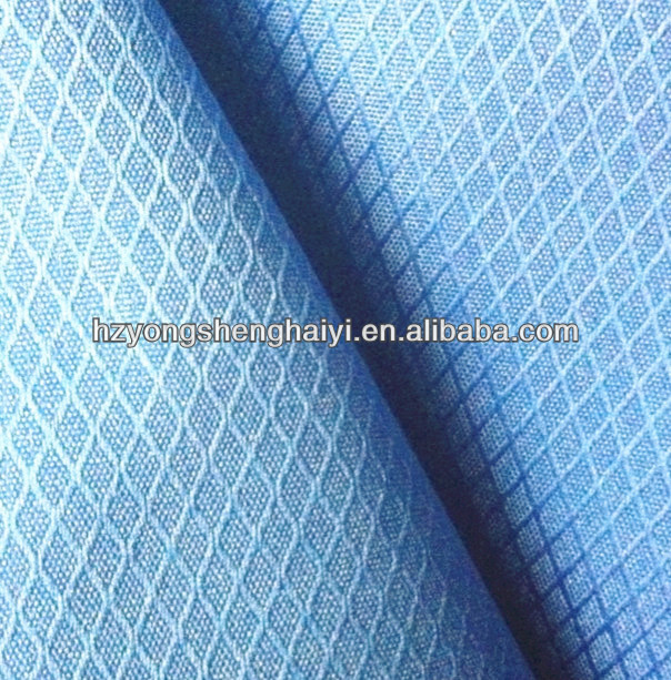 polyester 420D Honeycomb jacquard oxford fabric