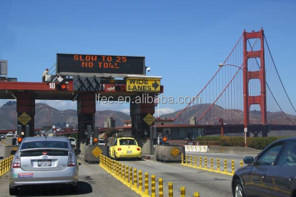 Steel Strcture Space Frame For Toll Station