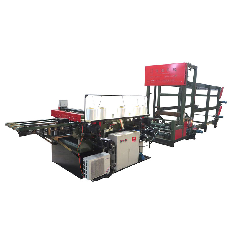 Multiplex core componist 4ft core fineer splicing machine in Indonesië