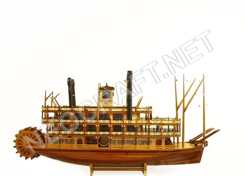 bateau en bois riverboats roi du mississippi