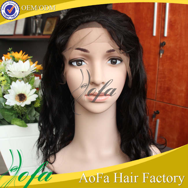 Aliexpress Malaysian Mink Grade Loose Wave Human Hair Lace Front Wigs With Baby Hair