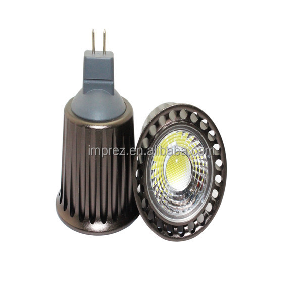 High quality gu10 mr16 7w led cob spotlight exhibition spot ligh
