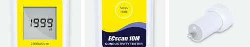ECscan10M Pen Conductivity Meter,EC Meter,Drinking Water and Tap Water Conductivity Meter,Mid-Range