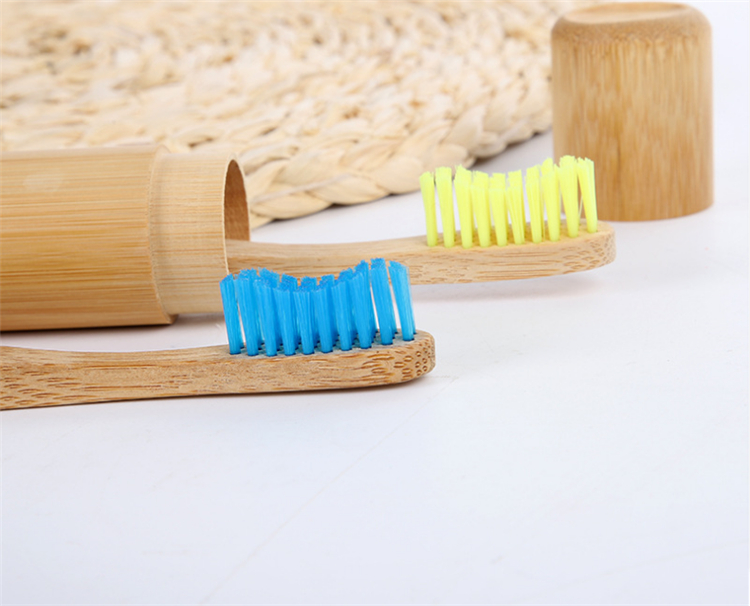 2019 hot 100% biodegradable bamboo toothbrush oem logo