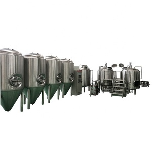 Brewery Equipment Beer Brewery Plant,Whole Set Beer Brewery Equipment,Industrial Beer Fermenting Equipment Turnkey Beer