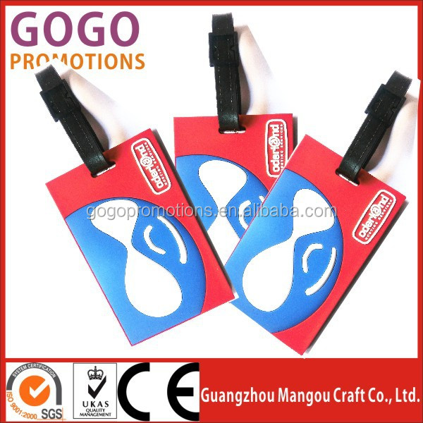 Standard card size wholesale 3d rubber custom pvc luggage bag name standard card size wholesale 3d rubber custom pvc luggage bag name tag manufacturer bag tags reheart Images