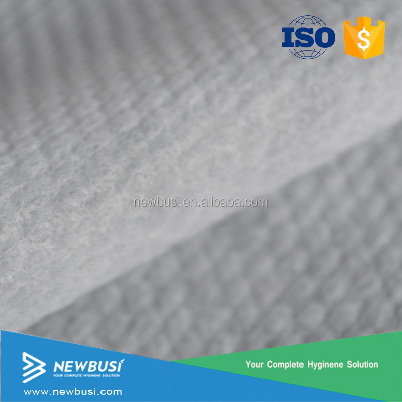 Super Cotton Soft Air-through 3D Embossed Hydrophilic nonwoven Fabric for Diaper