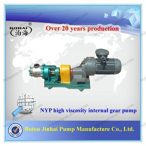 NYP high viscosity transfer medium hydraulic internal gear pump