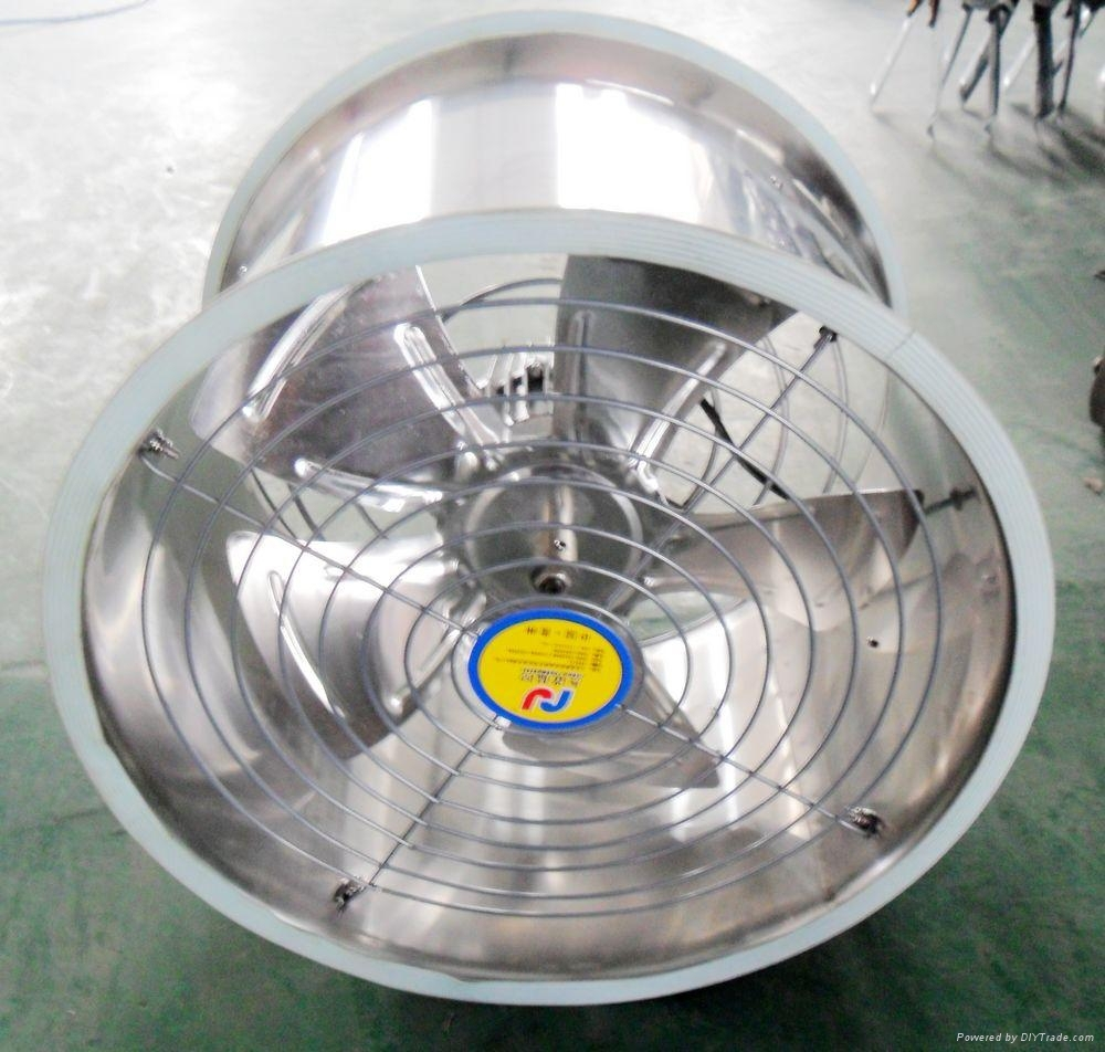 Green House Stainless Steel Air Circulating Fans/Aerofoil axial flow fan