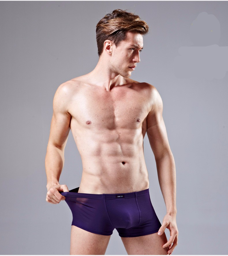 Cute Mesh Underwear For Men Boys Wearing Boxer Briefs Men's ...