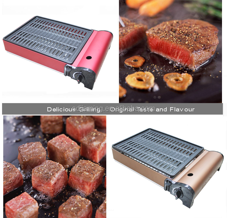 Outdoor barbecue grill a gas barbecue portatile griglia - Barbecue a gas portatile ...