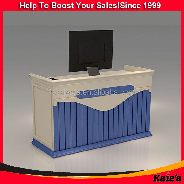 Customized Clothes Shop Cash Counter Design And Shop Cash Counter ...