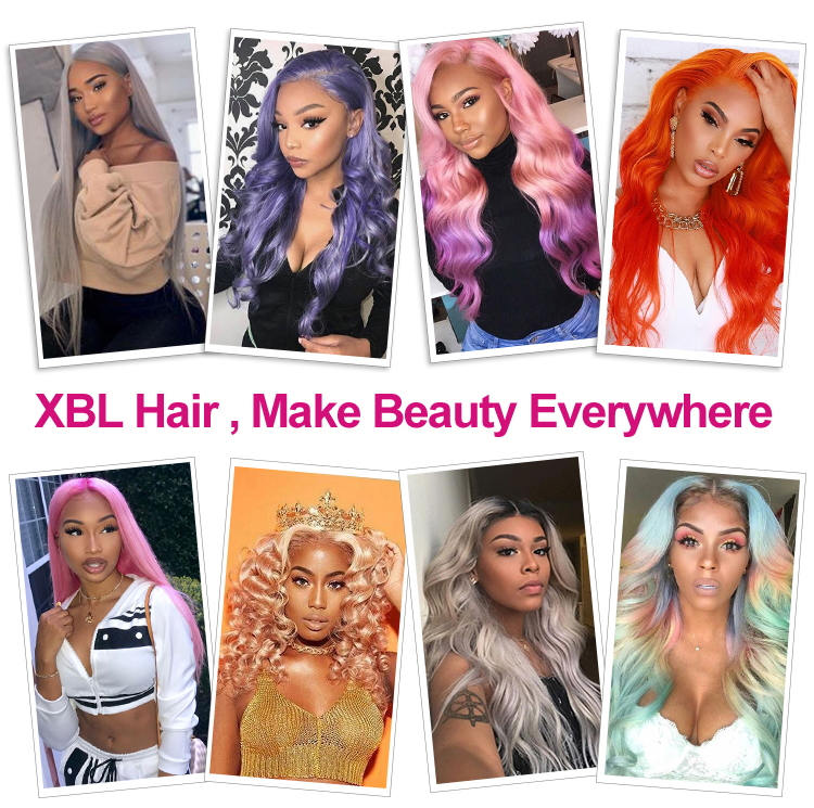 XBL Natural Color Short Bob Yaki Virgin Human Hair Full Lace Wig for black women