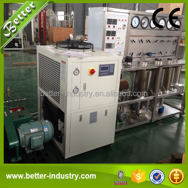 Specially Designed Supercritical Fluid CO2 Extraction