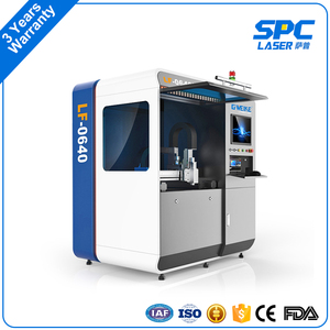 600*400 mm price 1000W 700W 500W 400W 300W 1mm gold metal silver laser cutting machine